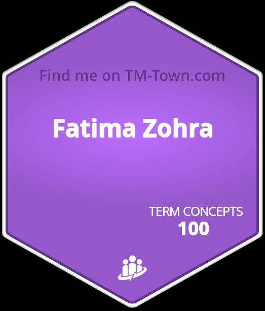 Fatima Zohra TM-Town Profile