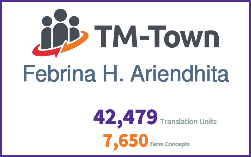 Febrina H. Ariendhita TM-Town Profile