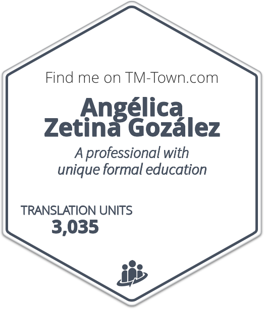 Angélica Zetina Gozález TM-Town Profile