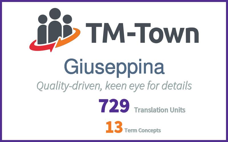 Giuseppina TM-Town Profile