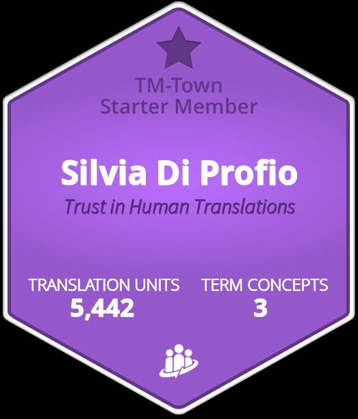 Silvia Di Profio TM-Town Profile