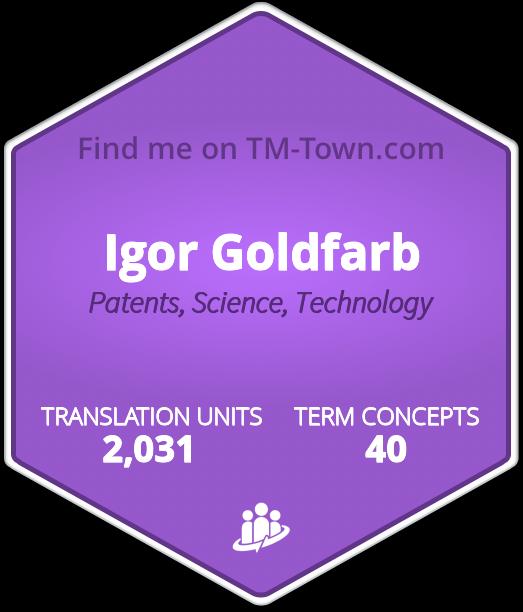 Igor Goldfarb TM-Town Profile