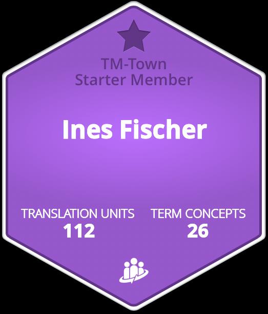 Ines Fischer TM-Town Profile
