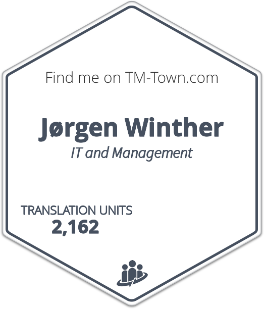 Jørgen Winther TM-Town Profile