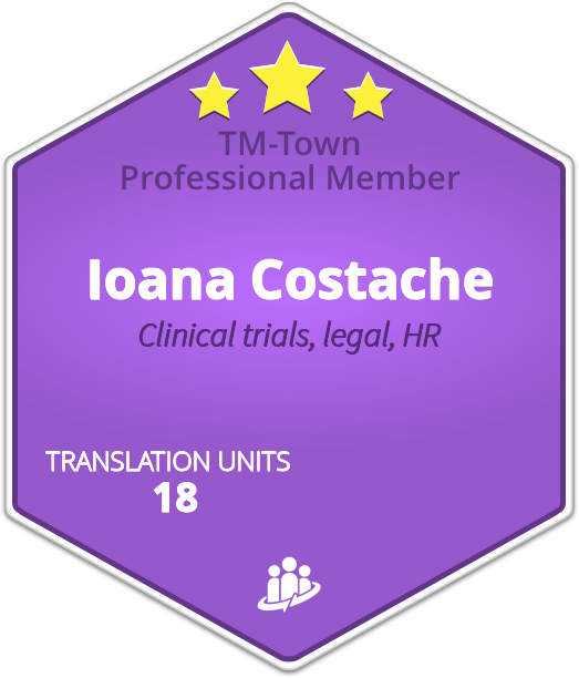 Ioana Costache TM-Town Profile