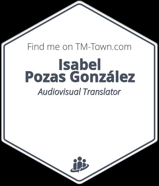 Isabel Pozas González TM-Town Profile