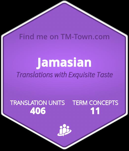 Jamasian TM-Town Profile