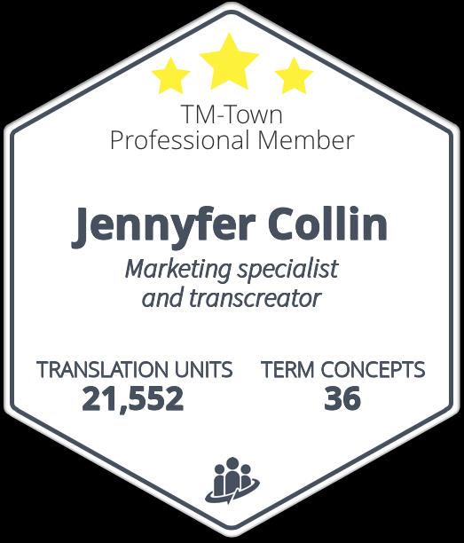 Jennyfer Collin TM-Town Profile