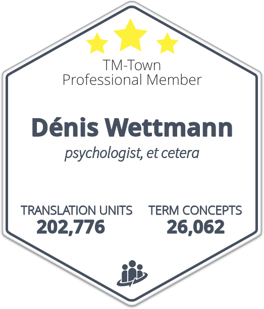 Dénis Wettmann TM-Town Profile