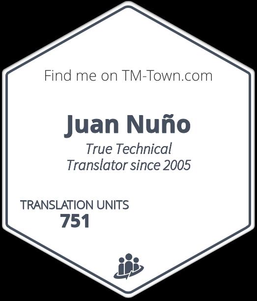 Juan Nuño TM-Town Profile