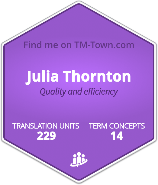 Julia Thornton TM-Town Profile