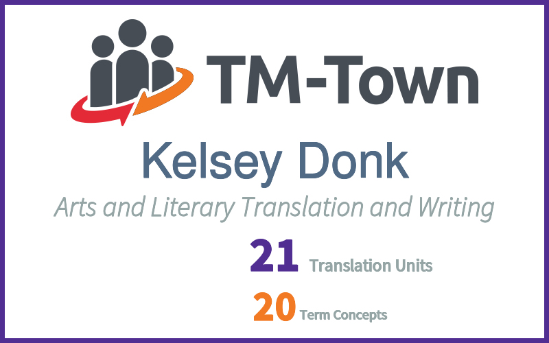 Kelsey Donk TM-Town Profile