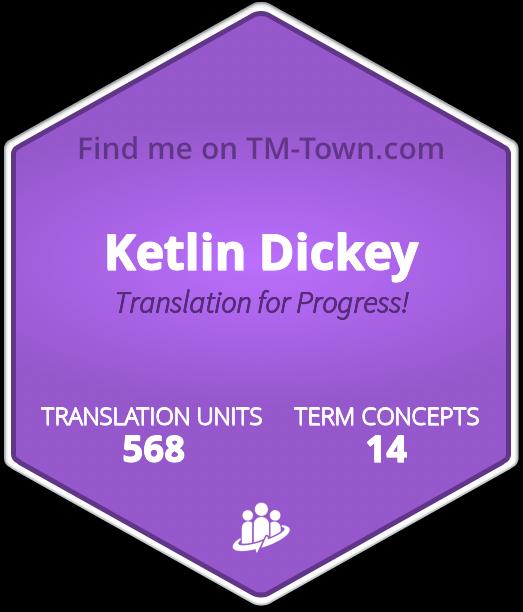 Ketlin Dickey TM-Town Profile
