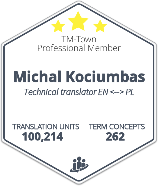 Michal Kociumbas TM-Town Profile