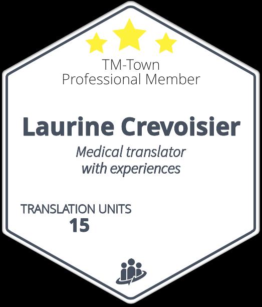 Laurine Crevoisier TM-Town Profile