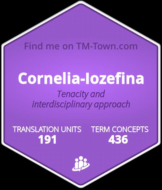 Cornelia-Iozefina TM-Town Profile