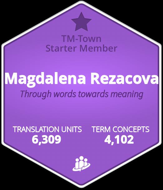 Magdalena Rezacova TM-Town Profile
