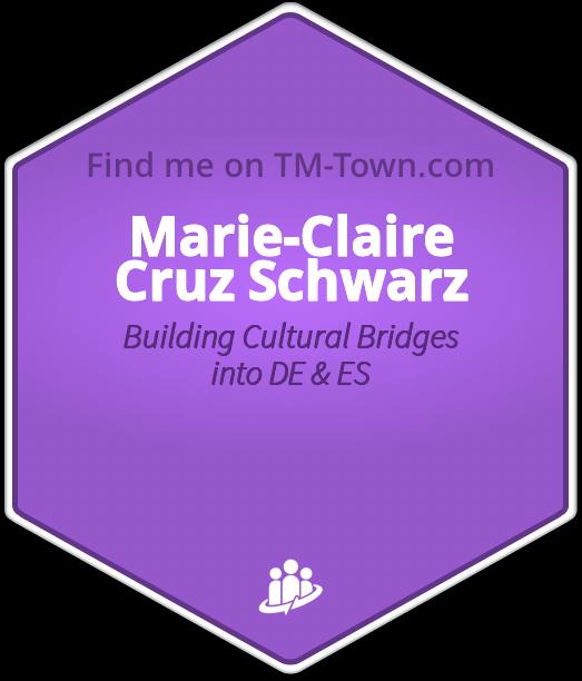 Marie-Claire Cruz Schwarz TM-Town Profile