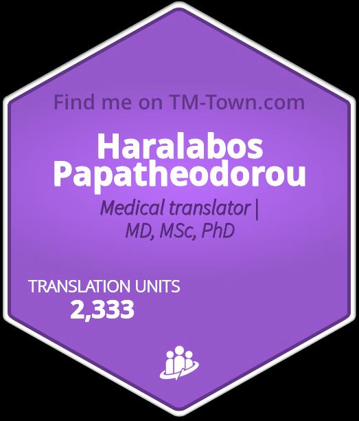 Haralabos Papatheodorou TM-Town Profile