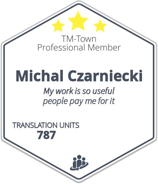 Michal Czarniecki TM-Town Profile