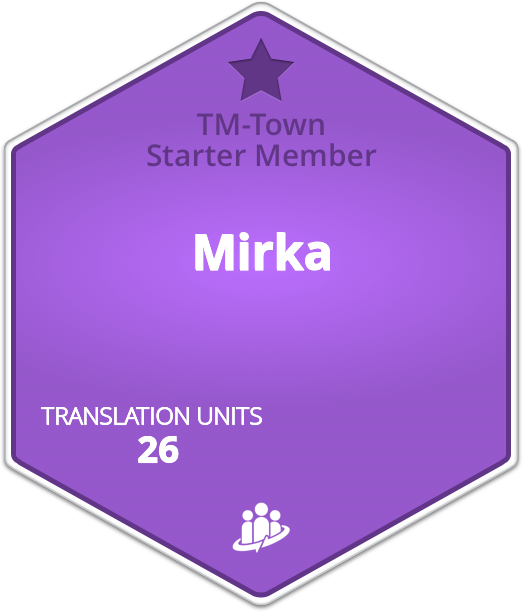 Mirka TM-Town Profile