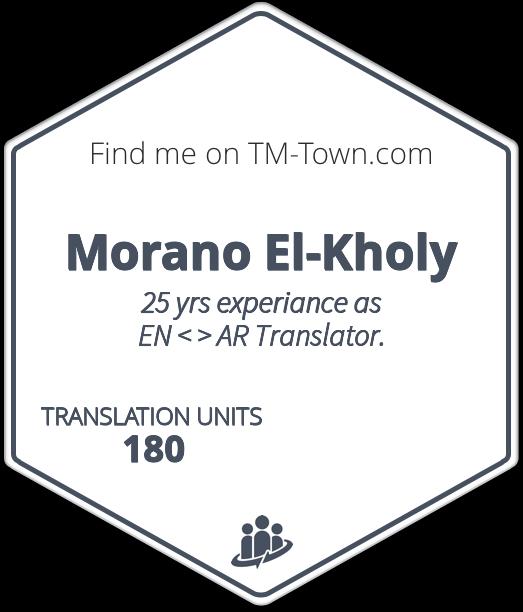Morano El-Kholy TM-Town Profile