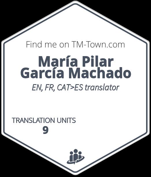 María Pilar García Machado TM-Town Profile