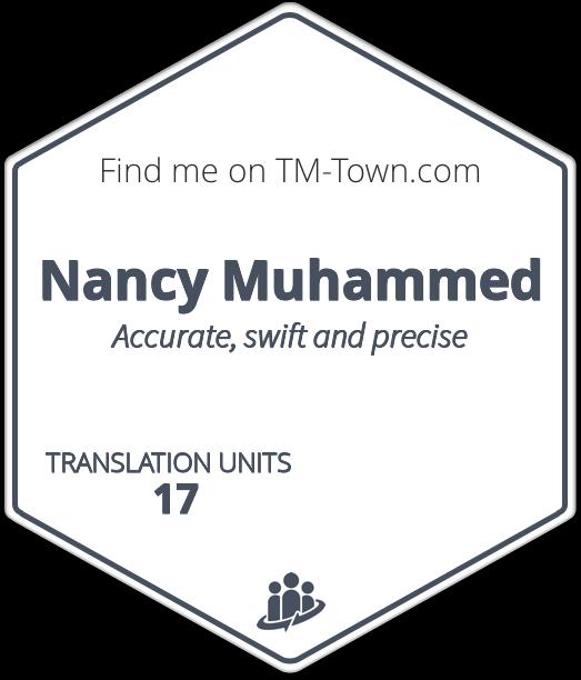 Nancy Muhammed TM-Town Profile