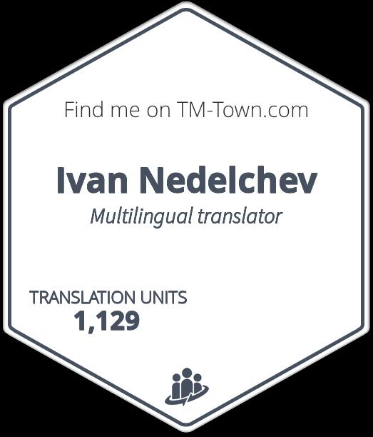 Ivan Nedelchev TM-Town Profile