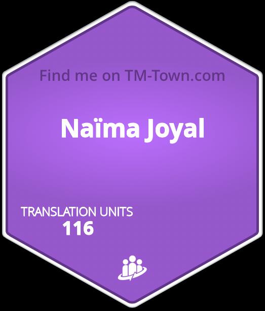 Naïma P. Joyal TM-Town Profile