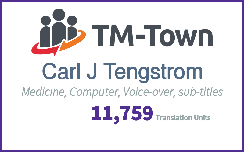 Carl J Tengstrom TM-Town Profile