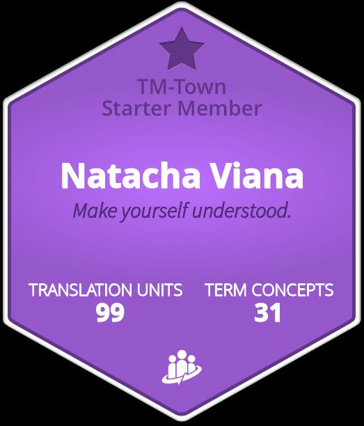 Natacha Viana TM-Town Profile