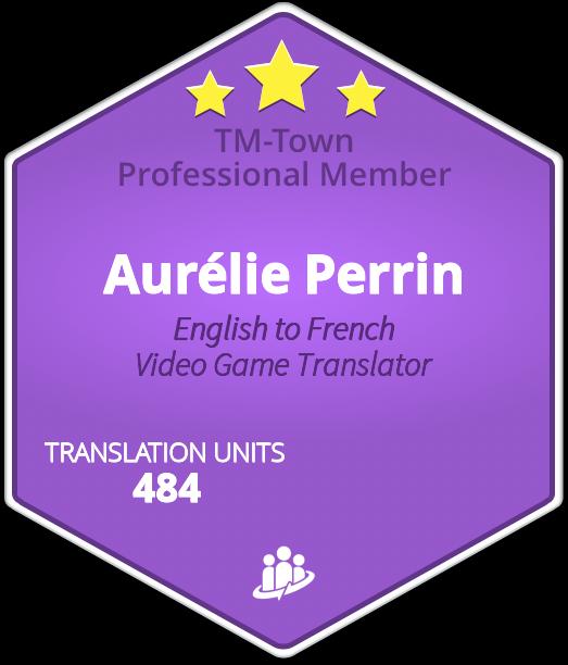 Aurélie Perrin TM-Town Profile