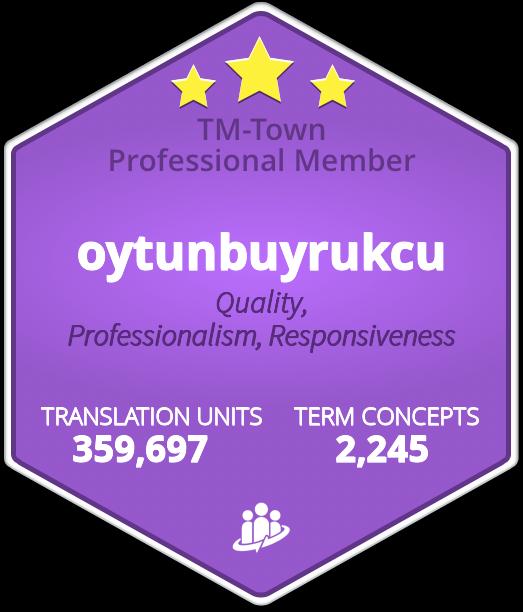 Oytun Buyrukcu TM-Town Profile