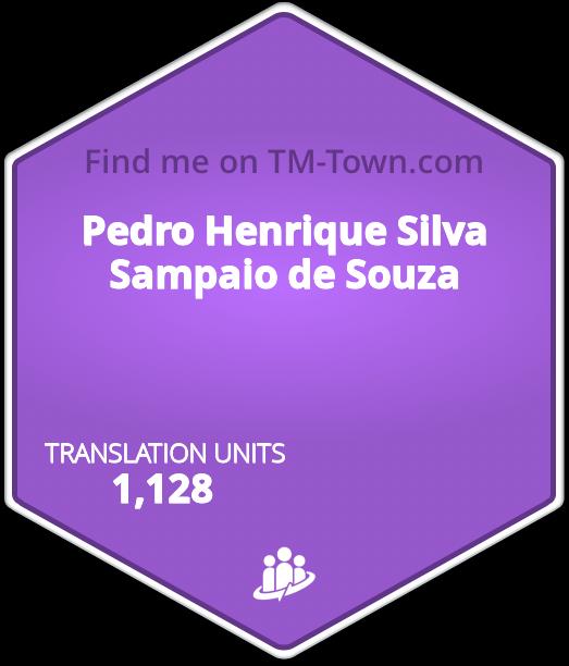 Pedro Henrique Silva Sampaio de Souza TM-Town Profile