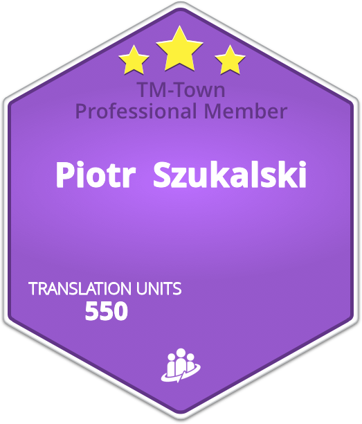 Piotr  Szukalski TM-Town Profile