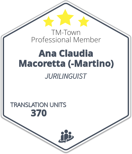 Ana Claudia Macoretta TM-Town Profile