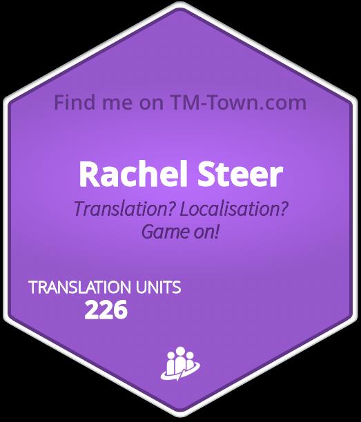 Rachel Steer TM-Town Profile