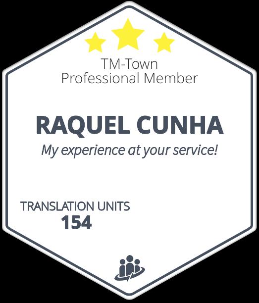 RAQUEL CUNHA TM-Town Profile