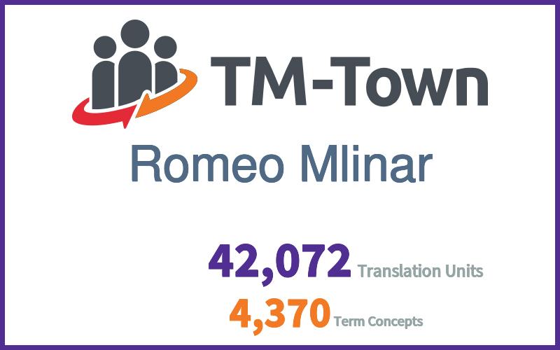 Romeo Mlinar TM-Town Profile