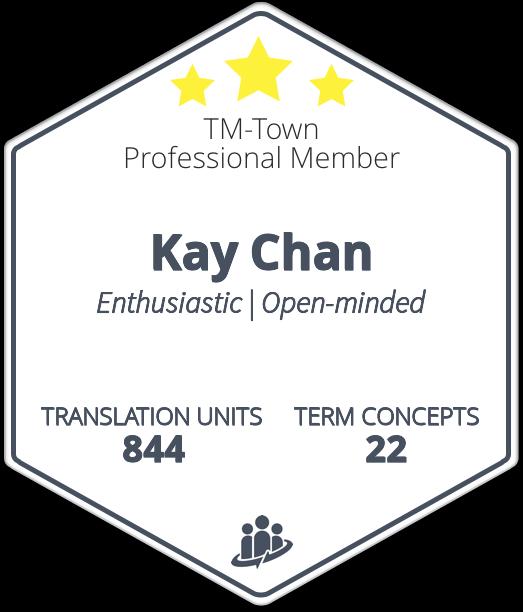 Kay Chan TM-Town Profile