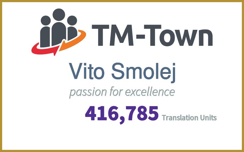 Vito Smolej TM-Town Profile