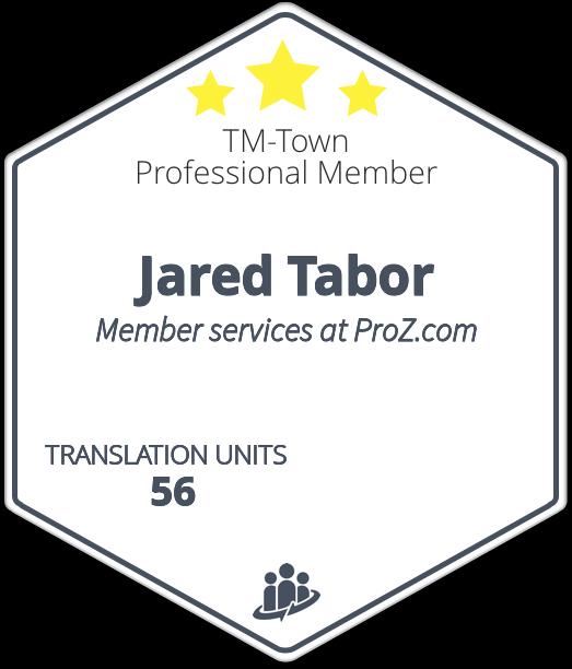 Jared Tabor TM-Town Profile
