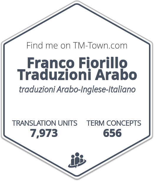 Franco Fiorillo Traduzioni Arabo TM-Town Profile