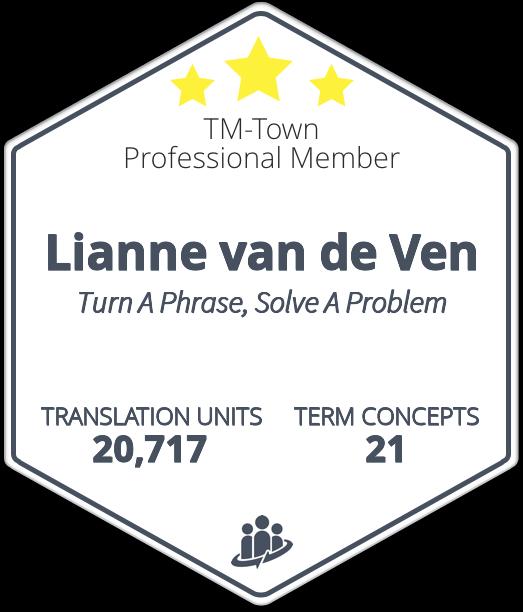 Lianne van de Ven TM-Town Profile