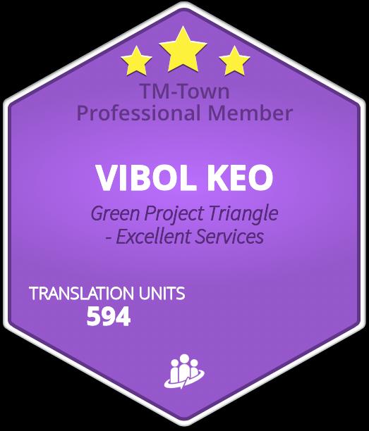 VIBOL KEO TM-Town Profile