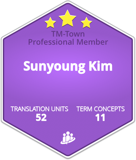 Sunyoung Kim TM-Town Profile