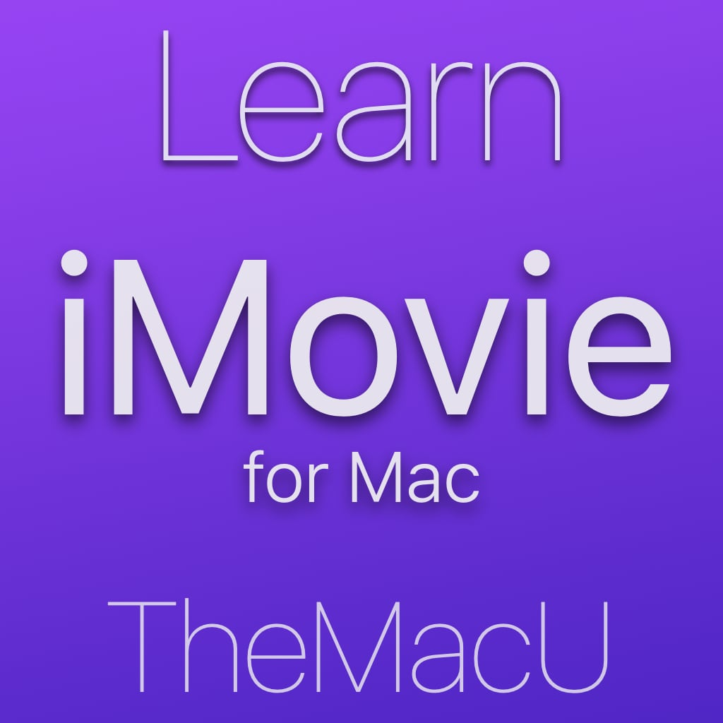 iMovie for Mac Image