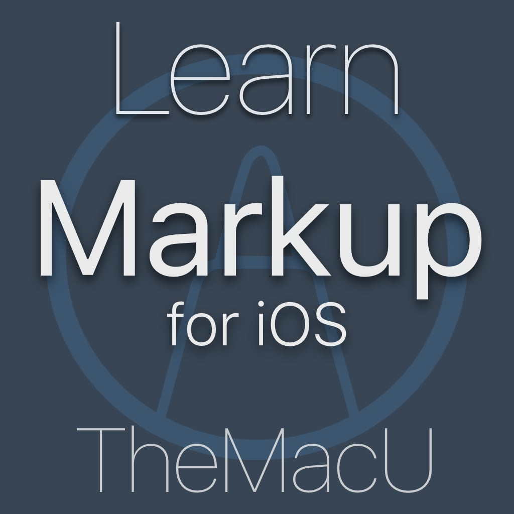 Markup for iOS Image