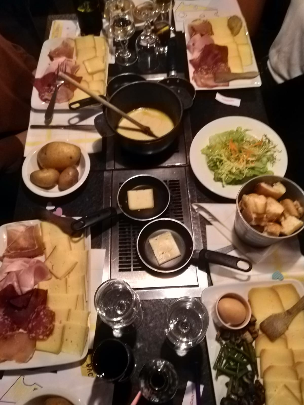 Say Cheese: Raclette and Fondue Dinner